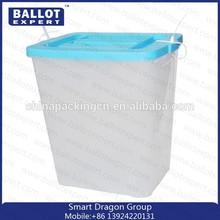 Large Plastic Ballot Box/ Plastic Bulk Box