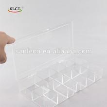 11 compartments plastic storage box