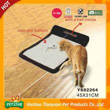 2015 New Pet Products Wholesale Non-Slip Corrugated Cat Scratcher