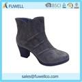 Moda las mujeres cómodas botas cortas