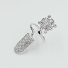 new arrival ladies finger ring 925 sterling silver jewelry wholesale