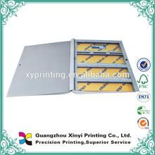hochwertige kundenspezifische kartonpapier buchumschlag drucken