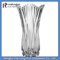 LongRun Unique And Exquisite Shape Tall new design glass vase new design glass vase
