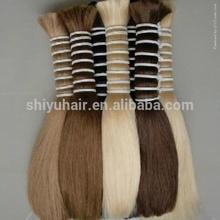 virgin remy human hair bulk/hair extension