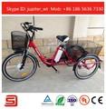alta configuração de 3 velocidades interno engrenagens triciclo elétrico jst01