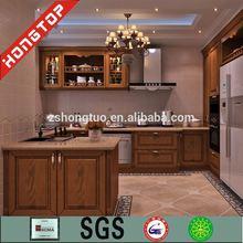 modern style maple/oak/cherry/teak kitchen cabinet solid wood
