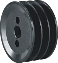 metal GG25 V pulley with dynamic balancing 129*63