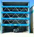 5 plantas vertical horizontal automatizado roba el sistema de aparcamiento