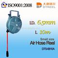 I. D. L 6.5mm 10m dts-6810a aire de tamaño pequeño carrete de manguera de cañas de pescar y el carrete