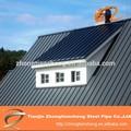 Venda quente chapas onduladas para telhados/cor telhados em chapa de aço.