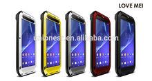 Love Mei Waterproof Case For Sony Xperia T2 Ultra,Shockproof/Dirtproof/Waterproof Case For Sony Xperia T2 Ultra