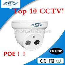Professional digital poe ip web camera dome 720P plug and play web camera
