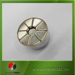 Strong motor segment magnets