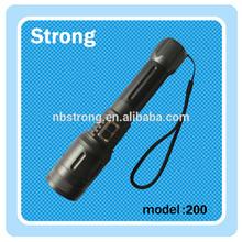 5w flexible led auto zoom flashlight torch