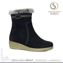 Hot Sales Genuine Leather Ladies Fancy Low Heel Shoes