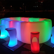 China supplier direct sell LED furniture bar counter/bar table/led furniture