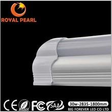 ce rohs high lumen led tube light fiber optical heat shrinkable tube 2 years warranty