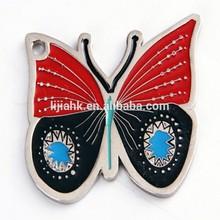 Butterfly Metal Lapel Pin/Custom Animal Metal Badge