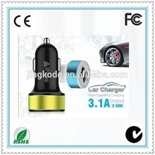 Full Color Logo Printed 5V 2A USB car charger 5v adaptador/adapter
