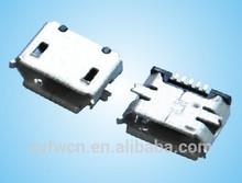 5pin female connector micro usb