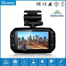 3.0 inch screen color choose Ambarella dash cam full hd
