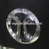 metal door sign holder car logo
