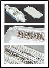 plastic waterproof terminal block box, IP66 Weatherproof ,can be used indoor and outdoor