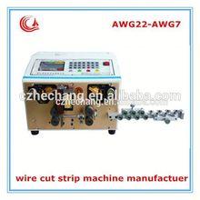 High Quality HC-515D 10 sqmm factory price el wire stripping machine
