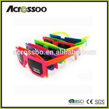 Customs Neon color party custom 8 bit glasses pixel sunglasses