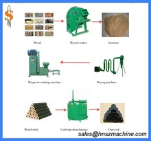 rice husk charcoal making machine production line in other wood working machinery