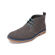 Fashion Wholesale New Style suede fabric men casual boots