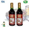chino negro maduro vinagre botella 500ml con sabor a ajo