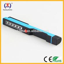 popular cordless auto 6+1 smd HX-3988 led inspection lights pocket light