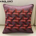 Casa estilo de bordado de algodón de lino decorativo Throw almohada cubierta cojín Case
