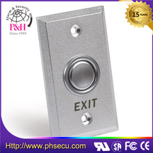 Rectangular Aluminum Push Button