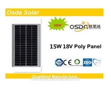 ODA15-18-P 15 Watt Poly Solar Panel china supplier