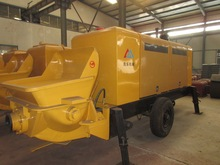 used concrete portable pump with reasonable price with PLC Controler advanced configuration