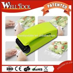ELECTRONIC BATTERY TYPE HANDY SEALER PLASTIC BAG SEALER PRESSED SEALER