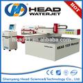 de alta velocidad de uhp de chorro de agua de lana de vidrio junta de corte de la máquina