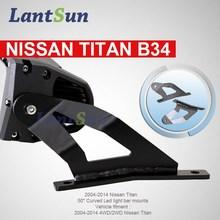 2015 Newest car parts Curved led bar mount/ bar lighting mount bracket
