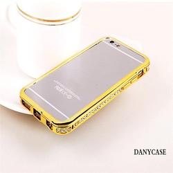 new design funky mobile phone case for iphone 6plus, aluminum diamond bumper for iphone 6 case custom