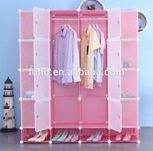 DIY big computer desk armoire wardrobe large wardrobe armoires (FH-AL00954-16)
