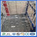 Mejor precio de gaviones caja, Hexagonal de gaviones caja de malla de alambre, Caja de piedra jaula