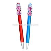 Novelty Glasses Character Pens/ Clip Cartoon Pen YB-3005