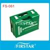 Emergency empty plastic first aid box