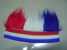 wholesale price large stock mixed color headband wigs blinking hair braid