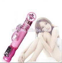 2015 pink purple color 5 models rotation 12 models vibration sex porn toys