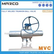 Extended stem Underground full welding ball valve