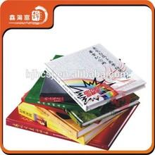 Professional custom varnishing hardcover book printing
