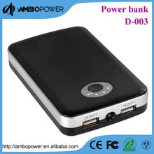 high quality mobile charge 10400mah for ipad